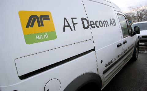 AF Decom AB:s firmabil