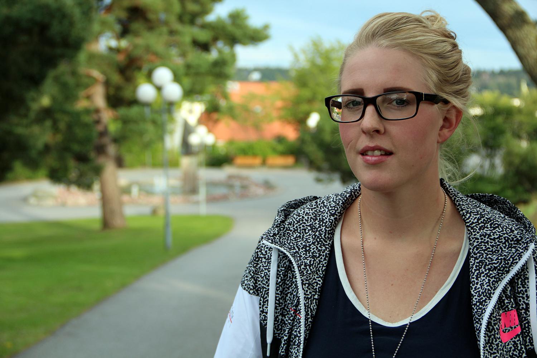 Emmelie Svensson, Årets Nordsjölärling. Foto: Helena Forsberg