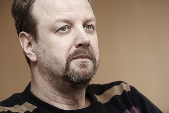 Jan Staaf, arbetsmiljöansvarig Målareförbudnet. Foto: Tomas Nyberg