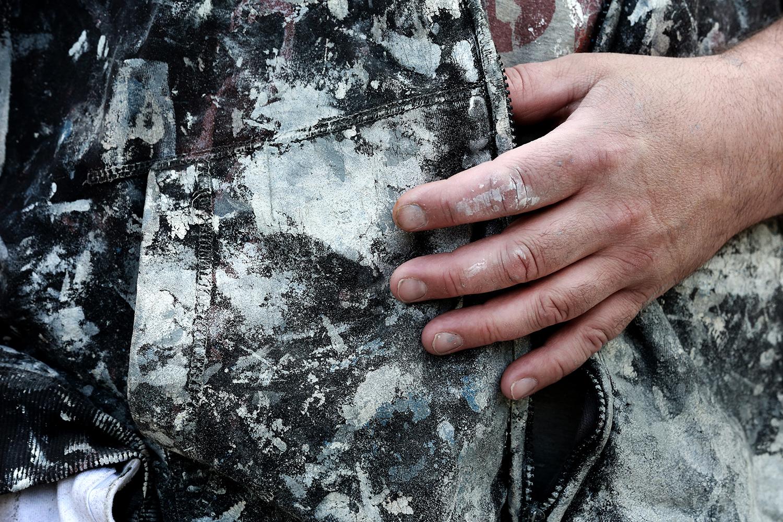 219 målare och 29 lackerare skadades på jobbet förra året. FOTO: TOMAS NYBERG