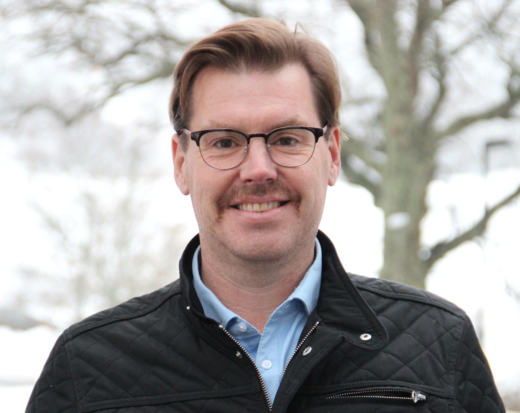 Joakim Blomqvist har varit med i fackliga sammanhang i många år. Foto: Helena Forsberg