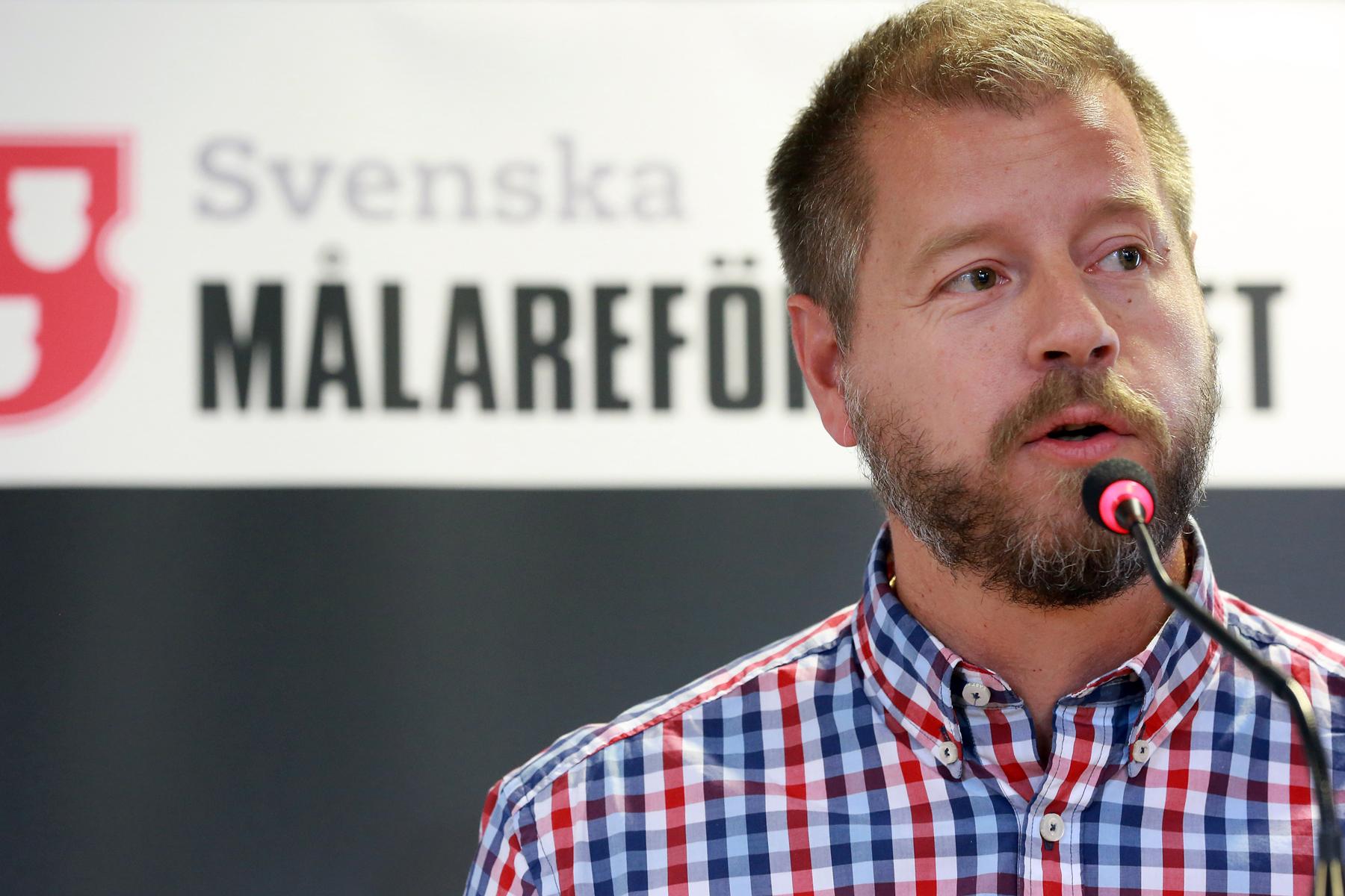 Målarnas förhandlingschef Peter Sjöstrand. Foto: Tomas Nyberg