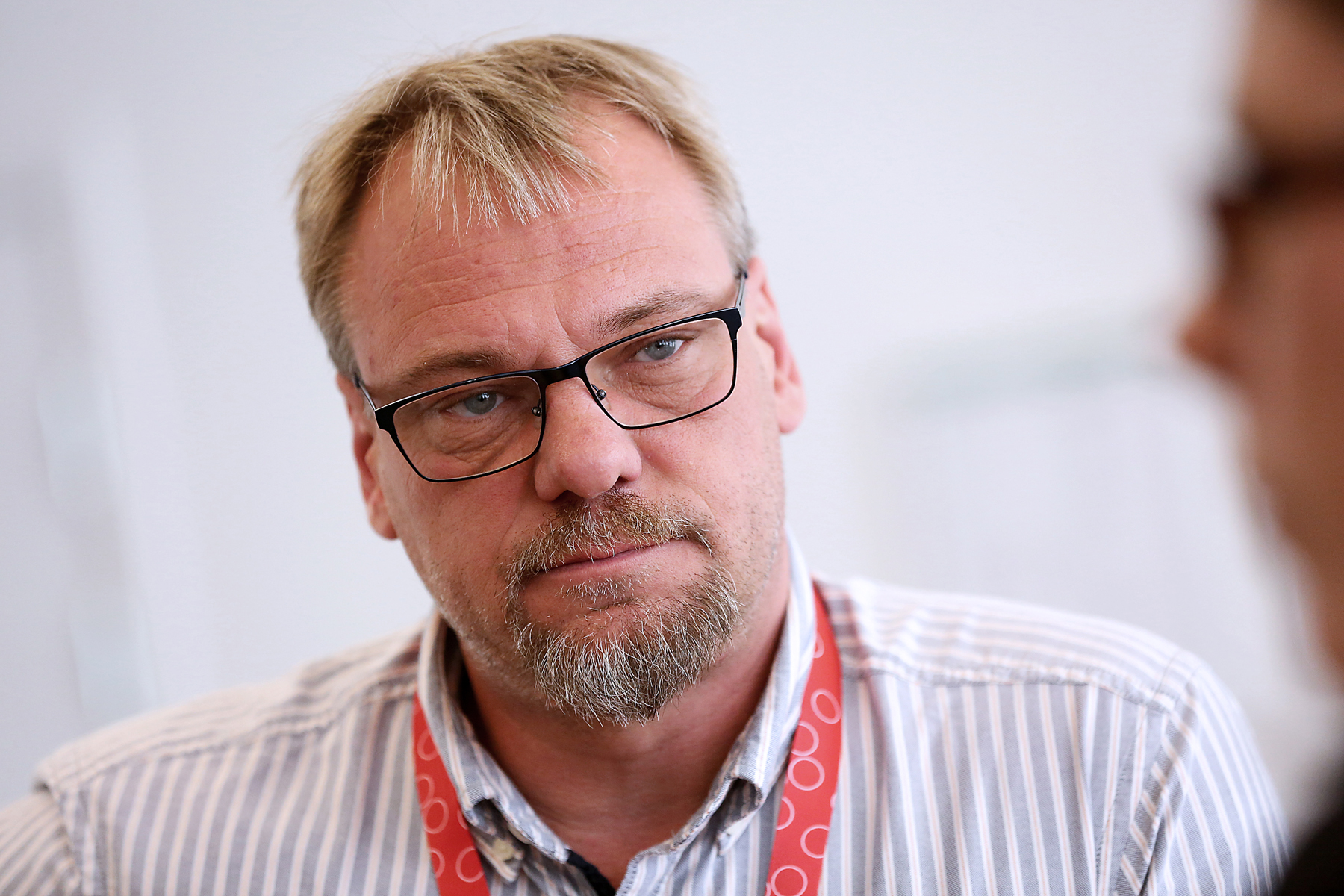 Jan-Olof Gustavsson, Målarnas vice ordförande, säger att de tar beslut på sitt nästa förbundsstyrelsemöte om de ska vara kvar eller lämna Nordea. Foto: Tomas Nyberg