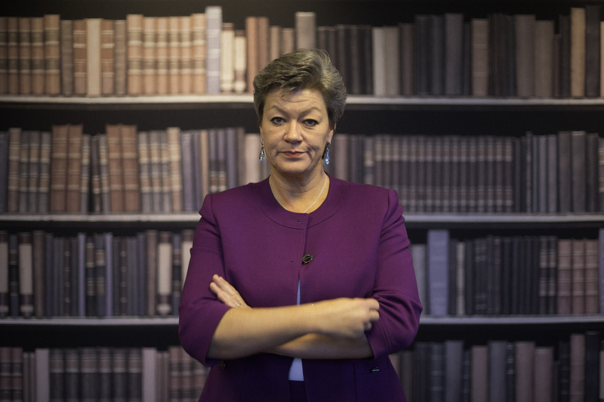 Arbetsmarknadsminister Ylva Johansson (s). Foto: Victor Svedberg