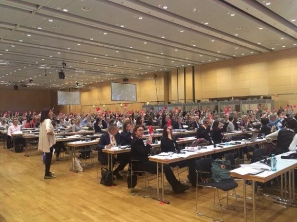 Europafackets kongress i Wien. Foto: Stephen Lindholm