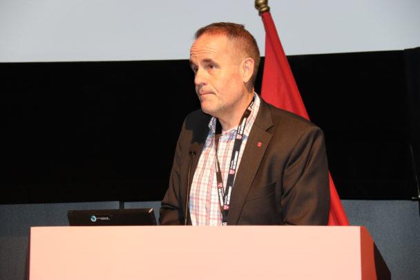 Jonny Svensson i en talasrstol