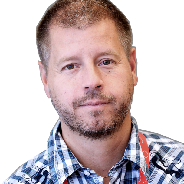 Porträtt på Peter Sjöstrand