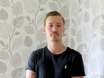 Robin Karlsson på Bruske måleri