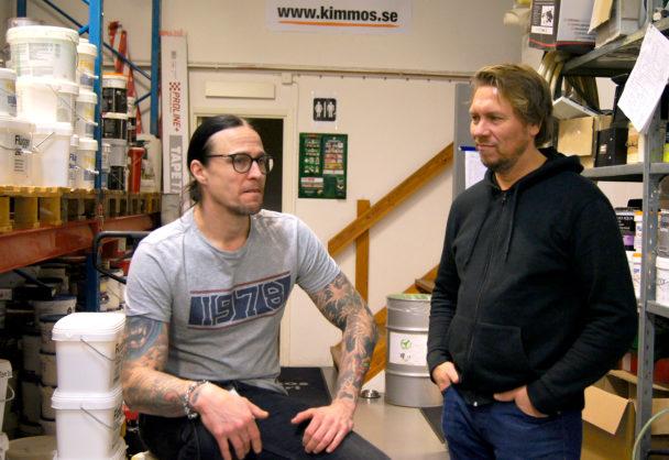 Joakim Berggren och Kimmo Komulainen