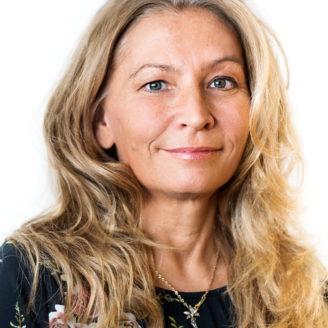 Porträttfoto på Yvonne Nygårds