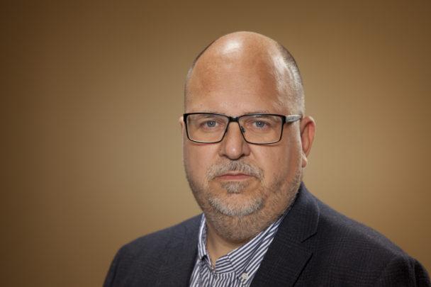 Porträttbild på Karl-Petter Thorwaldsson