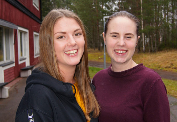 Fanny Dymne och Matilda Ålund.