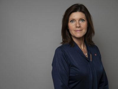Porträttfoto av arbetsmarknadsminister Eva Nordmark