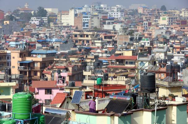 Översiktsbild på en stad