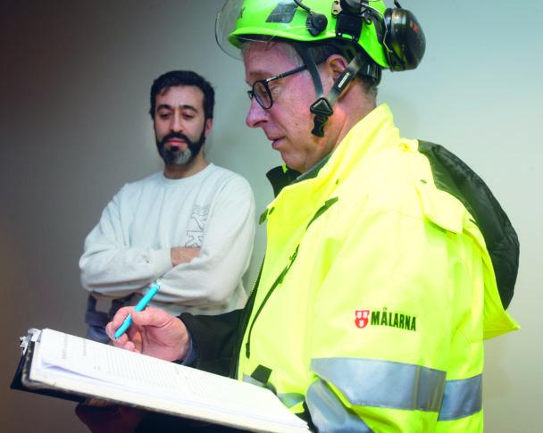 Lars Jonsson och Mohamad Hamid
