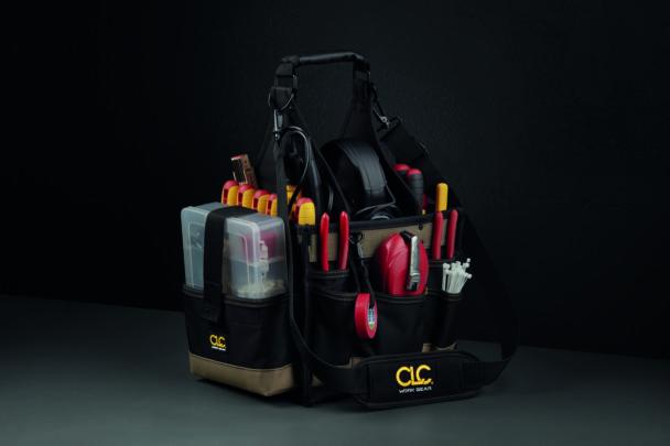 En väska med verktyg
