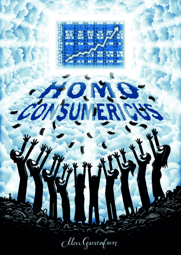 Omslagen på boken Homo Consumericus