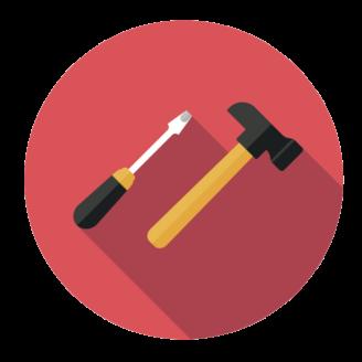 Tecknade verktyg
