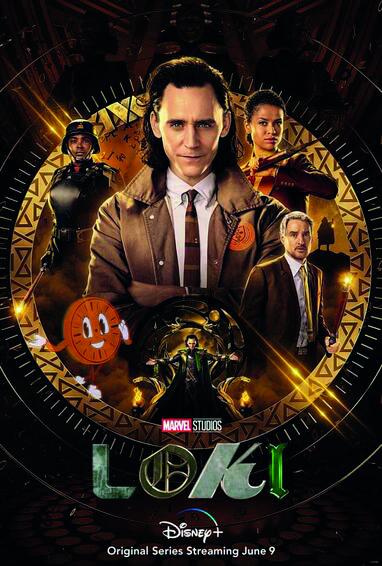 Omslaget till Loke-serien
